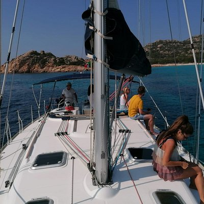in barca con Smeralda Charter