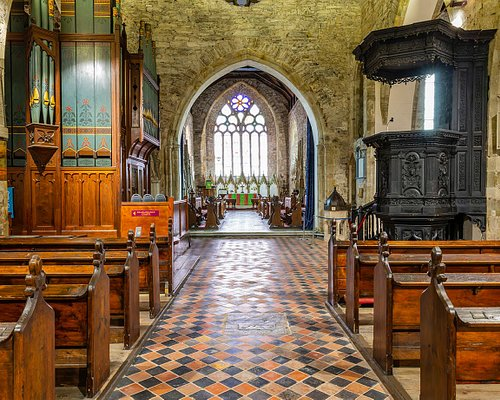 View of chancel from the nave
