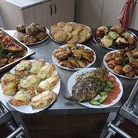 Непорционные блюда