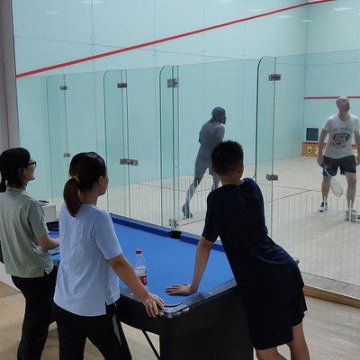 Squash in hangzhou