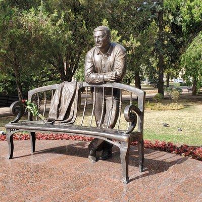 Памятник А.Х.Джатдоеву в Ставрополе