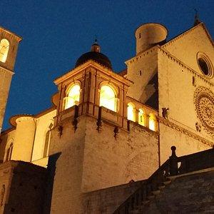 Basilica Superiore da Piazza San Francesco