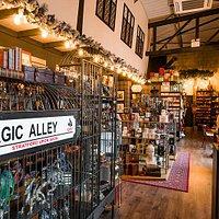 Inside Magic Alley