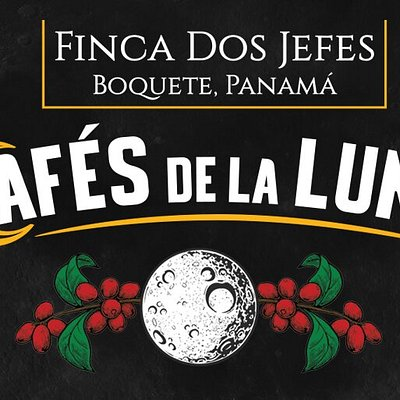 Finca Dos Jefes is a coffee farm located in the El Salto Region of Boquete in Panama. Cafés de la Luna is our brand of naturally sun-dried coffee, farmed in alliance with the phases of the moon.