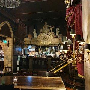 Bacchus Bar in Burlington Arcade