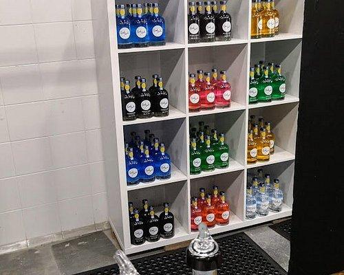 Choice of vodkas