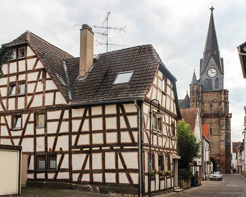 Friedberg: Engelsgasse (Stadtkirche Unserer Lieben Frau)