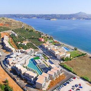 Kiani Beach Resort Aerial View