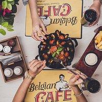 Belgian Beer Cafe - From the menu