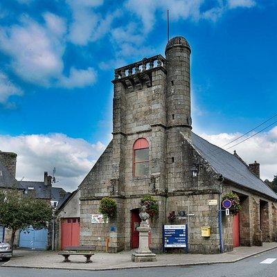 Ancienne église Saint - Jacques désormais dévolue aux expositions culturelles