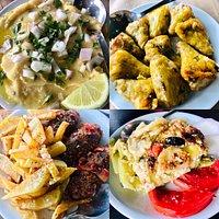 Selection of tasty dishes we enjoyed