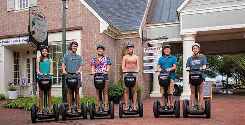 Guided Segway Tours at Patriot Tours & Provisions