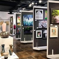 Our juried Regional Show is in the gallery through October 22, after which, the entire gallery transforms into a Christmas shopping experience through December.