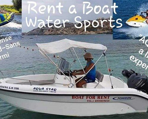 Rent a boat in crete   -  aqua star