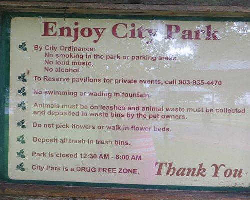 City park, Marshall, TX, Sept 2020