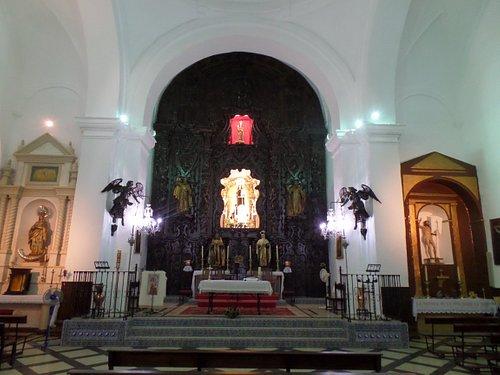 Interior de la Iglesia del Carmen de Trigueros
