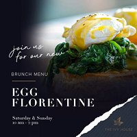 Try out our New Brunch Menu...