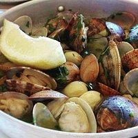 Seafood Clams Algarve Style