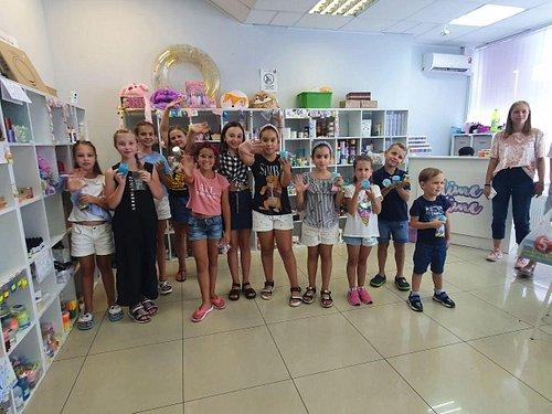 Мастер классы для детей в Краснодаре