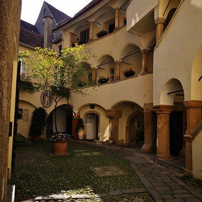 Innenhof des Deutschritterordenshauses