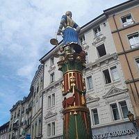 Horloge de la Palud Brunnen fontána