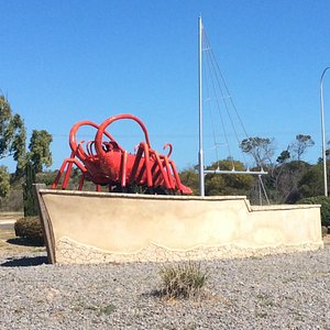Dongara's big red lobster