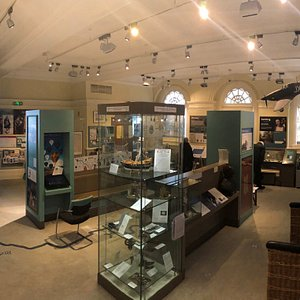 Inside the museum at Windsor Guildhall.