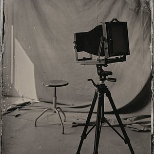 8 x 10 inch large format camera