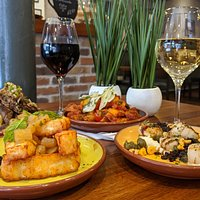 Macfarlane's Small Plates selection along with great wine.