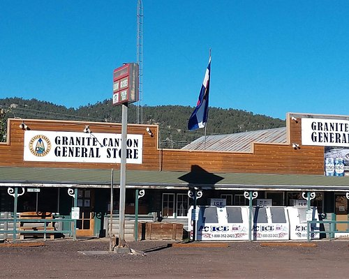 Outside of Granite Canyon General Store