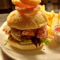 Chicken new York burger