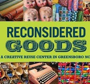 Greensboro Creative Reuse Center -  Reconsidered Goods!