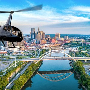 See Music City from the sky. A helicopter ride over our beautiful city skyline is the most exciting tour in Nashville.