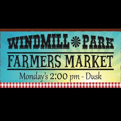 Windmill Park Farmers Market in Cornville. Each Monday from 2P until DUSK!
