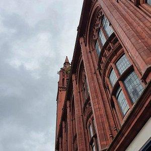 Beautiful architecture, Methodist Central Hall.