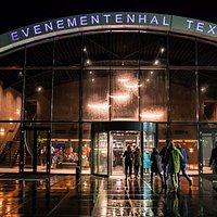 Ingang Evenementenhal Texel