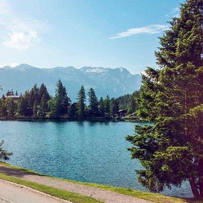 Champex-Lac (Valais) l'été