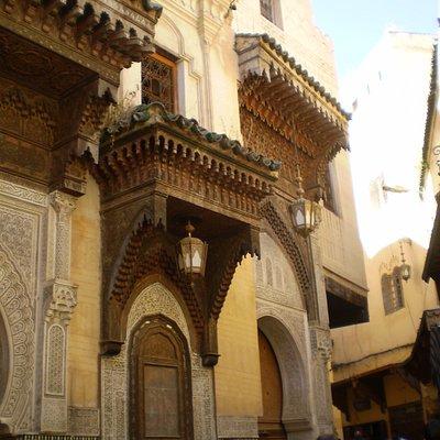 fachada de la Zaouia Sidi Ahmed Tijani