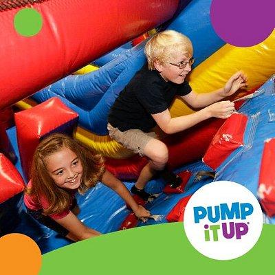 Kids Enjoy Giant Inflatables