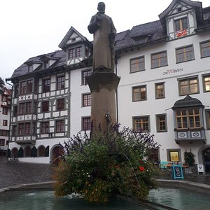 Gallusbrunnen - fontána