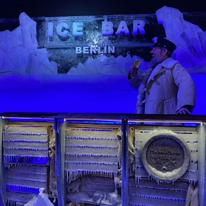 Join the captain for a drink at the Berlin Icebar.