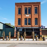 Built in 1890 as a carriage factory, the Duchmann and Sons building is now home to Buffalo Distilling Company.