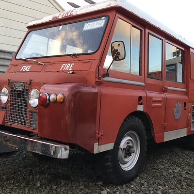 One of a Kind  1965 Landrover FT6