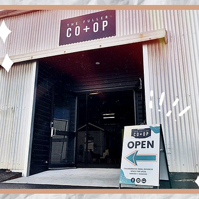 ✨ Hand-made creations • Quality goods • Local artisans ✨ The Co+Op is the place to be EVERY weekend to find unique gifts & get professional service from a growing collective of vendors
