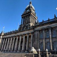 Leeds Town Hall exterior