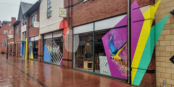 The frontage of Xplore on Chester Street