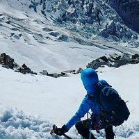 Scendendo dal Castore 4.228 mt, Monte Rosa, fra le esperienze più belle che rimarranno nel mio cuore!