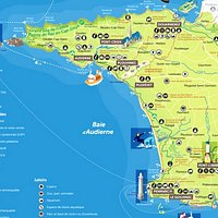 Carte de situation en Bretagne //Situation map in Brittany