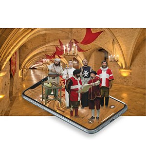Augmented Reality Museum in one of the most historic buildings in Valletta - The Sacra Infermeria