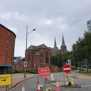 St Chads Cathedral in Gunmaker Quarter